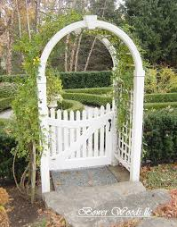 garden arches with gates home outdoor decoration