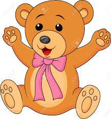Imagenes Animadas Oso   bebé lindo oso de dibujos animados ilustraciones vectoriales clip