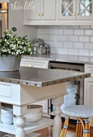 kitchen island countertop ideas a classic and timeless white kitchen by dear lillie seriously
