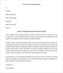 Formal Complaint Letter Against An Employee 27 images of complaining against company of template diygreat