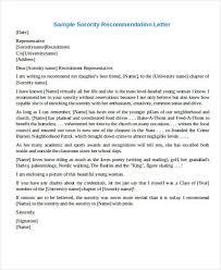 sorority recommendation letter sample recommendation letter for