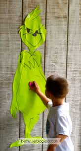pin the heart on mr grinch perfect christmas party game u003c3