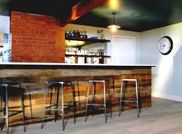 reclaimed wood bar home u2014 optimizing home decor ideas reclaimed