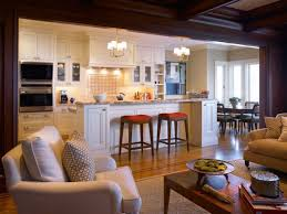 Open Concept Best Kitchen And Living Room Designs Home Design - Small kitchen living room design ideas