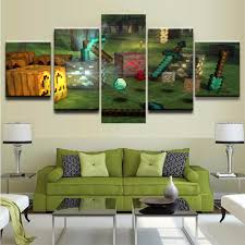 Wall Paintings For Home Decoration Compare Prices On Minecraft Wall Decor Online Shopping Buy Low