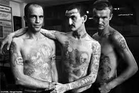 symbols of a life of crime the fading tattoos on russia u0027s