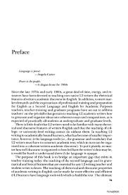 writing a preface for a research paper english teaching academic esl writing practical techniques in vocab preface