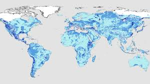 map of erth a map showing the earth s groundwater as it would appear on the