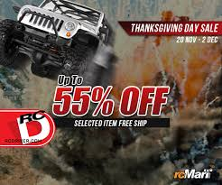 rcmart thanksgiving redeem and black friday sale rc driver