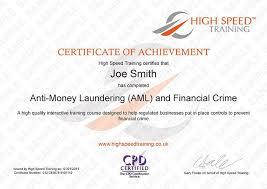 anti money laundering aml online training course