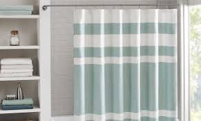 How To Hang A Valance Scarf by 3 Steps For How To Install A Shower Curtain Overstock Com