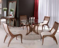 Round Rug For Dining Room Round Dining Tables As Central Pieces In The Interior Design Hum