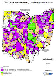 Map Testing Ohio ohio epa ohio environmental law blog