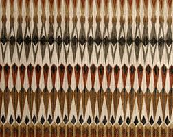 Black Drapery Fabric Tribal Print Fabric Etsy