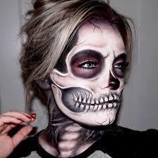 skeleton skull makeup tutorial