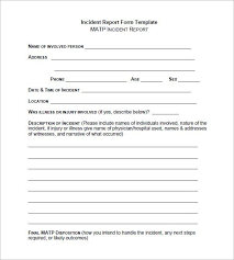patient incident report form template incident report form template word the free website templates