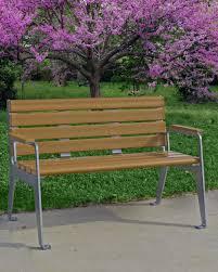 park warehouse benches picnic tables bike racks