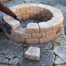 Garden Patio Bricks At Lowes Garden Designing Fire Pit Lowes Ideas In Back Yard Brick Fire