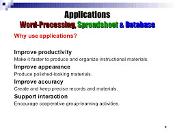 How To Use Spreadsheet As Database Applications Word Processing Spreadsheet Database