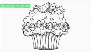 cupcake coloring pages to print top 20 free printable cupcake coloring pages youtube