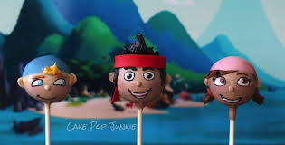jake and the neverland pirates cake pops cupcakes pinterest
