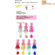 kids nail polish beauty set 7 kids non toxic nails polish korea