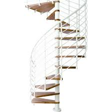 arke eureka 55 in black spiral staircase kit k21006 the home depot 11 tread spiral staircase kit