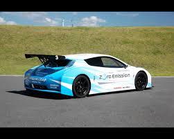 nissan leaf zero emission graphic nissan leaf nismo rc racing green electric car 2011