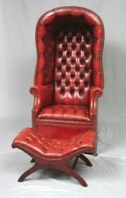 Red Leather Office Chair Antique Leather Chairs Foter