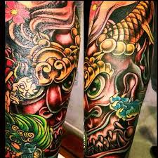 japanese mask design tattooshunter com