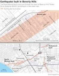 California Fault Map New California Geological Data Shows Earthquake Fault Runs Below