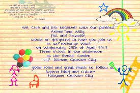 wedding invitations samples wording u2014 criolla brithday u0026 wedding
