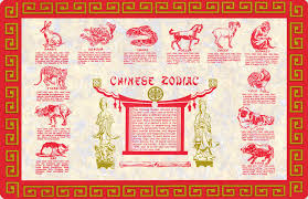new year placemats the zodiac calendar the quest
