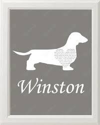 pet memorial gifts personalized dachshund pet memorial poem memorial gift 8 x 10