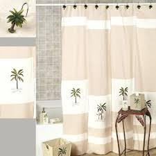 zoom tree shower curtain canada bathroom decoration palm tree