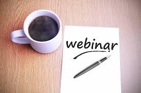 Seminar And Webinar Schedule Events List