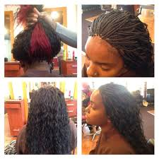 freestyle braids with curly hair wet n wavy human hair micro braids done in 4 5 hours yelp