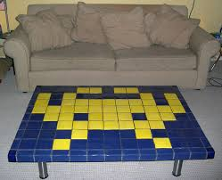 2008 03 06 Zap Tiled Coffee Table With Space Invader Motif