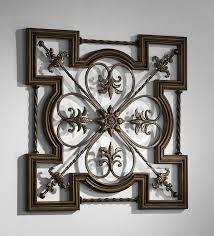 rod iron wall art home decor greek wrought iron wall art by cyan design