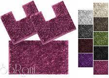 tappeti da bagno tappeti da bagno viola ebay