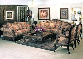 Traditional Armchairs For Living Room Ellianor Traditional Sofa Set Y23 Traditional Sofas