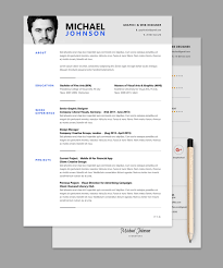 Free Templates Resume The Best Cv Resume Templates 50 Examples Design Shack Indesign