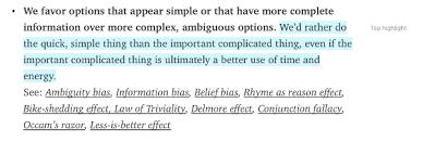 cognitive bias cheat sheet u2013 better humans