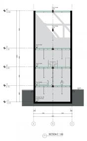 Floor Plan For A House Vertical Glass House By Atelier Fcjz