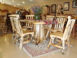 furniture charming dining room decoration with rectangular rustic