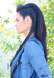 celtic warrior hair braids best 25 viking braids ideas on pinterest braided faux hawk