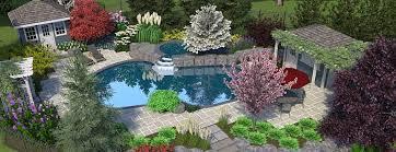 landscape design and build manor landscaping