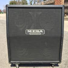 used mesa boogie rectifier 4x12 cabinet slant guitar speaker