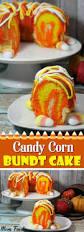 candy corn bundt cake recipe a fun easy fall dessert mom foodie