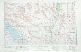Ajo Arizona Map by Salton Sea Topographic Maps Ca Az Usgs Topo Quad 33114a1 At 1